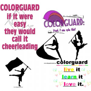 quotes colorguard