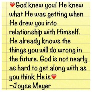 Joyce Meyer Quotes On Faith | Joyce Meyer Quotes