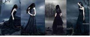 Moda Gótica X Fallen -Lauren Kate