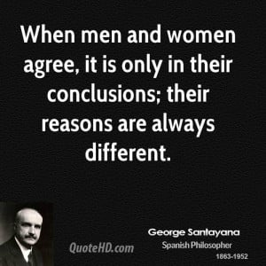 George Santayana Women Quotes