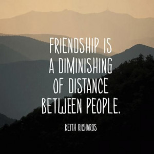 Quote About Friendship - Keith Richards
