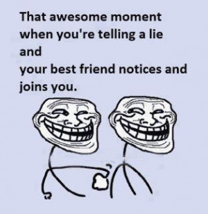 ... in cartoons facebook friendship stories funny images random troll