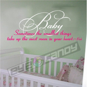wall decals cute baby quote vinyl wall art quotes nursery baby girl