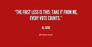 Your Vote Counts Quotes Preview quote