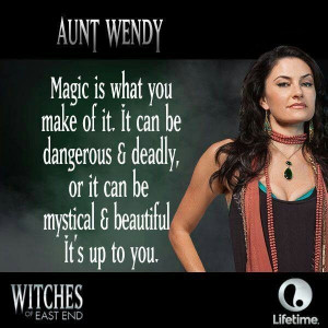 Wendy - Witches of East End.goals in life. be the awesome spontaneous ...
