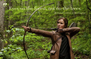 Eyes On The Forest Quote by GracelessDesires