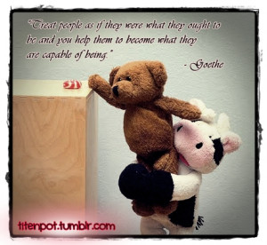 cute teddy bear with friendship quotes