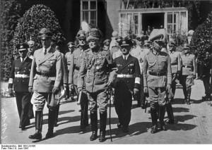 Seyß-Inquart, Mackensen, Canaris, Christiansen, Haase, and Densch at ...