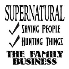 Supernatural Family Business Poster