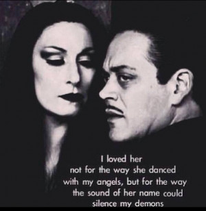 THE ADDAMS FAMILY CONCEPT OF LOVE