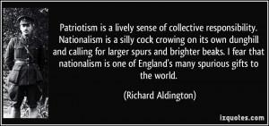 Quotes by Richard Aldington