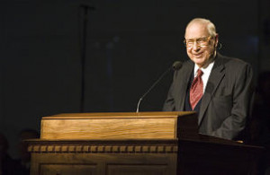 President James E. Faust dies at age 87