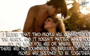 If two people are destined to be together