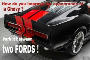 ... of a chevy park it between two fords save to folder memes chevy jokes