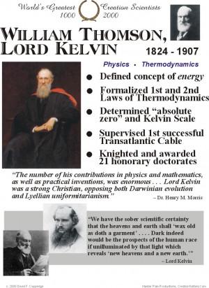 William Thomson, Lord Kelvin 1824 - 1907