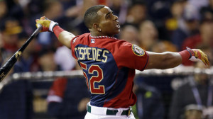 Yoenis Cespedes repeats as home run champ