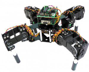 Wireless Robot Can Walk