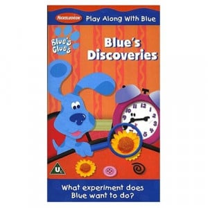 Blue Clues Discoveries Vhs...