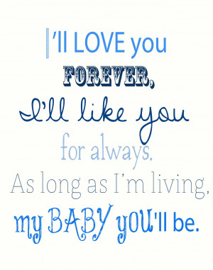 Baby Boy Love Quotes Handmade {gift} idea: baby