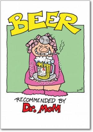 Doctor Mom Adult Humorous Birthday Paper Card Nobleworks