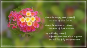 Positive Quotes About Losing A Loved One ~ Do not be angry with ...