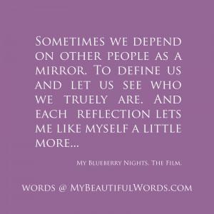 This Loving Mirror...