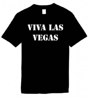 ... Shirts Size L (VIVA LAS VEGAS) Humorous Slogans Comical Sayings Shirt
