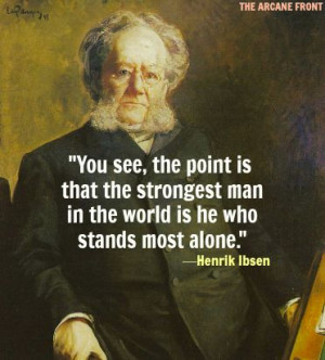 The life and literary works of henrik ibsen