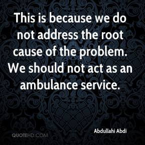 Root cause Quotes