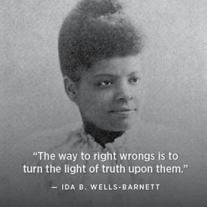ida b wells | Ida B Wells