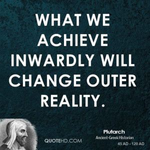 Plutarch Inspirational Quotes   QuoteHD