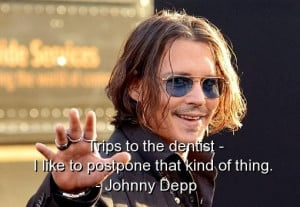 Johnny depp quotes sayings witty funny deep