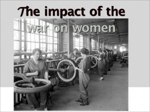 WWI women