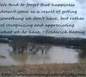 Recognize what you have – Quote