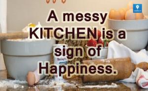Messy #Kitchen
