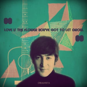 The Best Of John Lennon Quote: John Lennon Quote With Picture Of Him ...