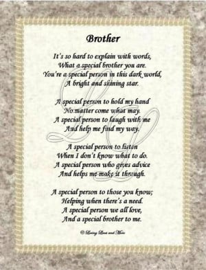 ... brother poems happy birthday brother poems dear brother sweet wishes