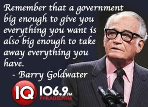 Barry Goldwater. Building a new welfare state thanks to Obamacare. Fix ...