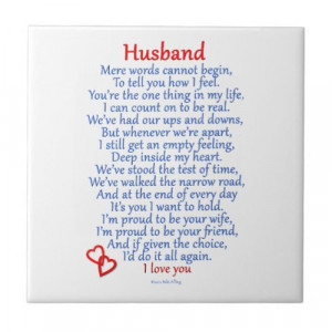 Husband Love Gifts from Zazzle by nikiclix