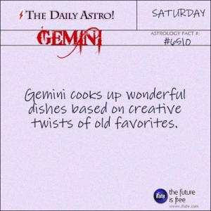 Gemini 6510: Check out The Daily Astro for facts about Gemini.These ...