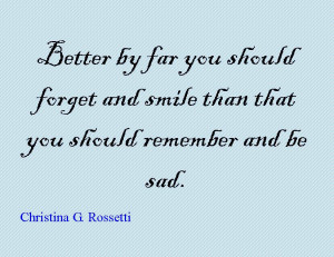 Quote of the Day : Christina G. Rossetti