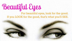 Beautiful Eyes Beauty Quotes