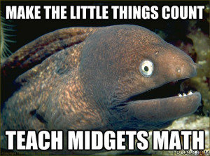 MAKE THE LITTLE THINGS COUNT TEACH MIDGETS MATH