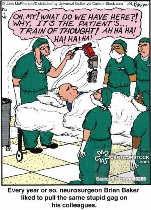brain surgery cartoons, brain surgery cartoon, funny, brain surgery ...