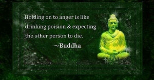 Buddha - Holding on to Anger