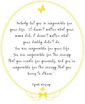 Happy Birthday Oprah: 10 Inspiring Quotes « Read Less