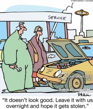 Broken Down Car cartoons, Broken Down Car cartoon, funny, Broken Down ...