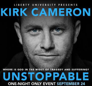 ... film sponsored by Liberty University and produced by Kirk Cameron