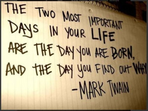 Life born quotes and witty sayings mark twain