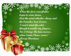 Short Christmas Poems For Friends Famous short christmas poems